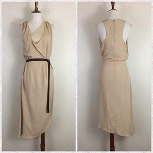 W113 Walter Baker Sleeveless Cowl Neck Midi Dress